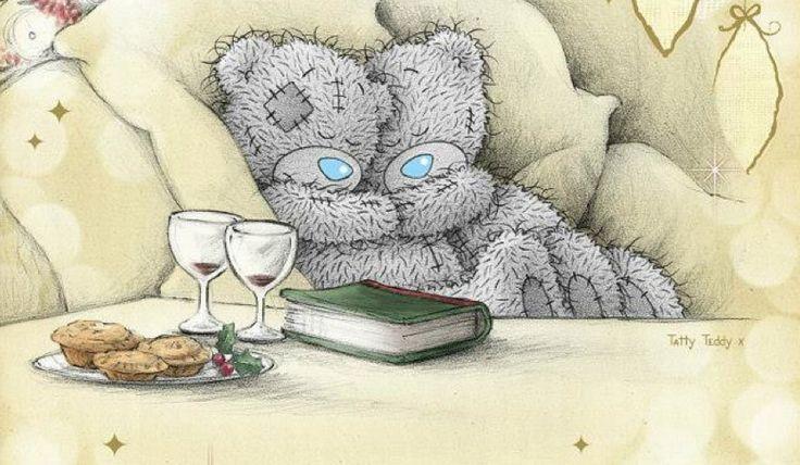 Открытки доброе утро мишки тедди, открытки новому году
