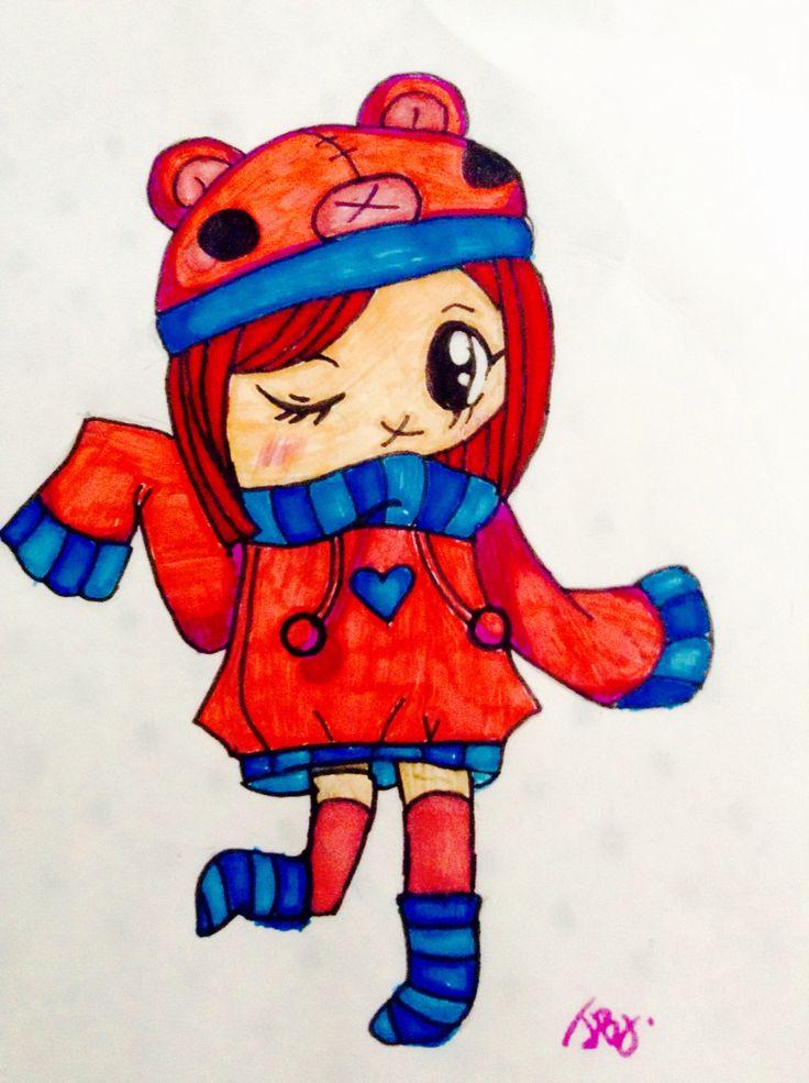 Kawaii drawing I did