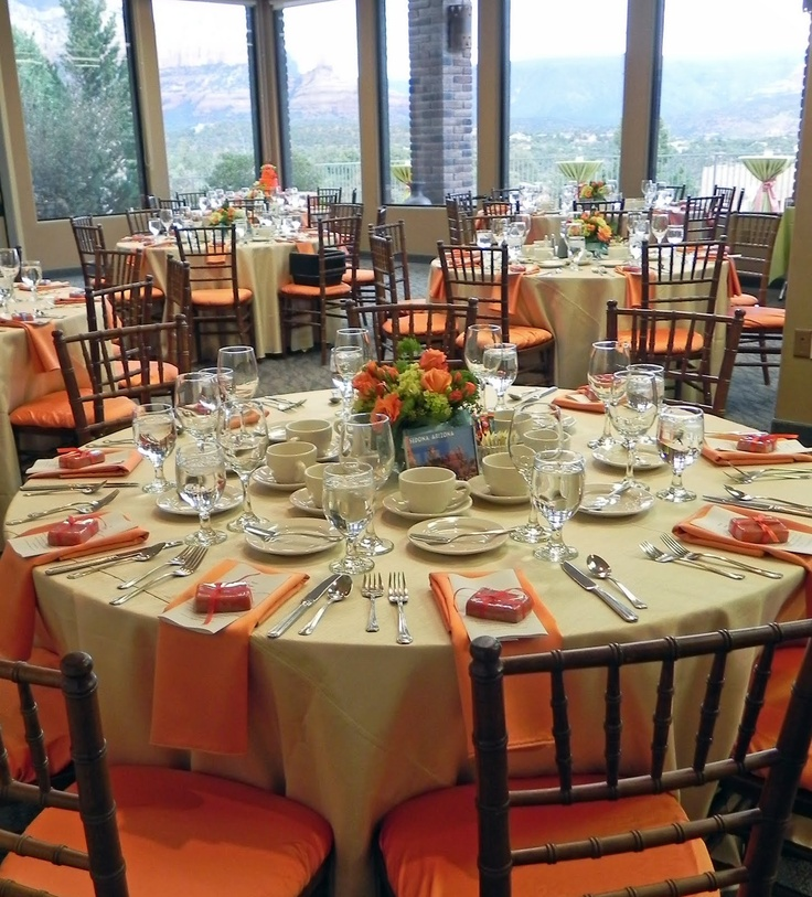 Ideas For Wedding Rehearsal Dinner: Rehearsal Dinner Idea! And Corley Loves Orange, Hehe