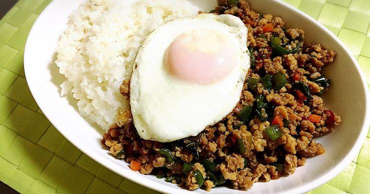 冷蔵庫に入ってるお野菜で、お家で簡単! エスニック料理☆ナンプラーがない場合は醤油で(笑) ぜひ!お試しあれ(^ ^)