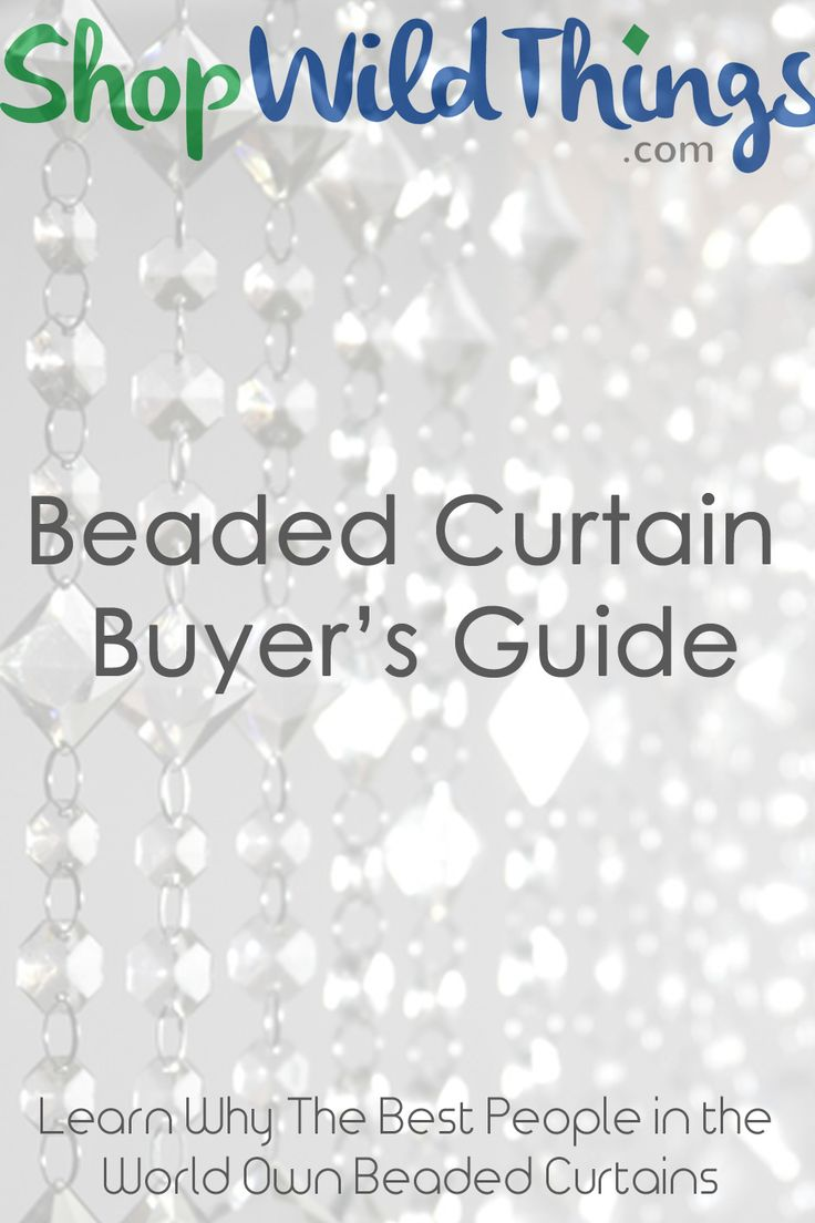 Beaded Curtains Buyer's Guide - This Will Help you decide which Beaded Curtain style is right for your Home, Wedding, or Special Event!