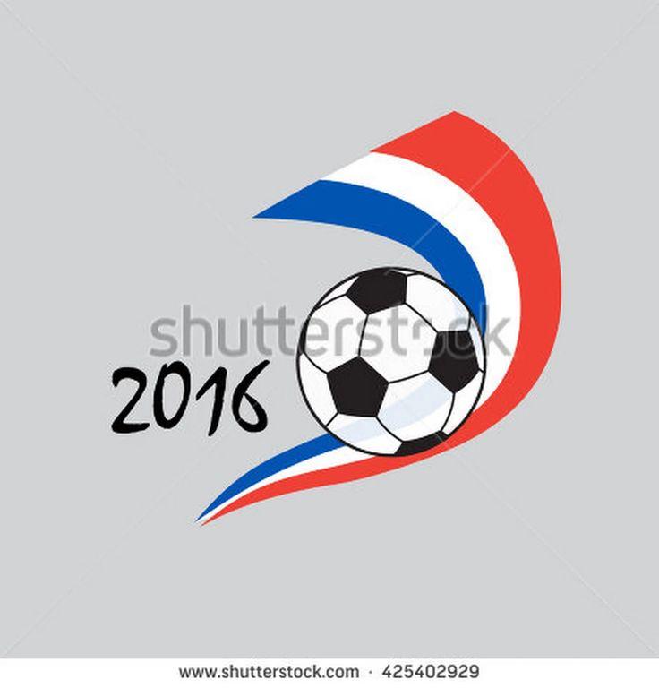Soccer Ball Icon. Soccer 2016. Championship Soccer France. Soccer Icon. Soccer Image. Soccer Vector Illustration. Football Icon.  - 425402929 : Shutterstock