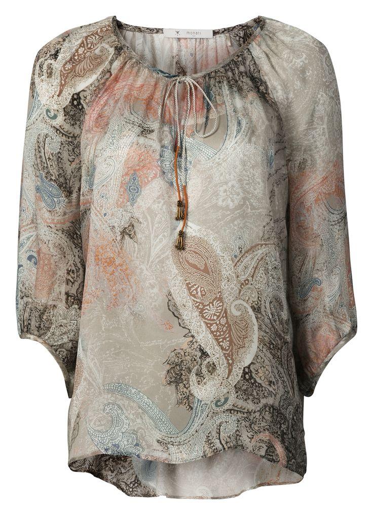 Zijde blouse