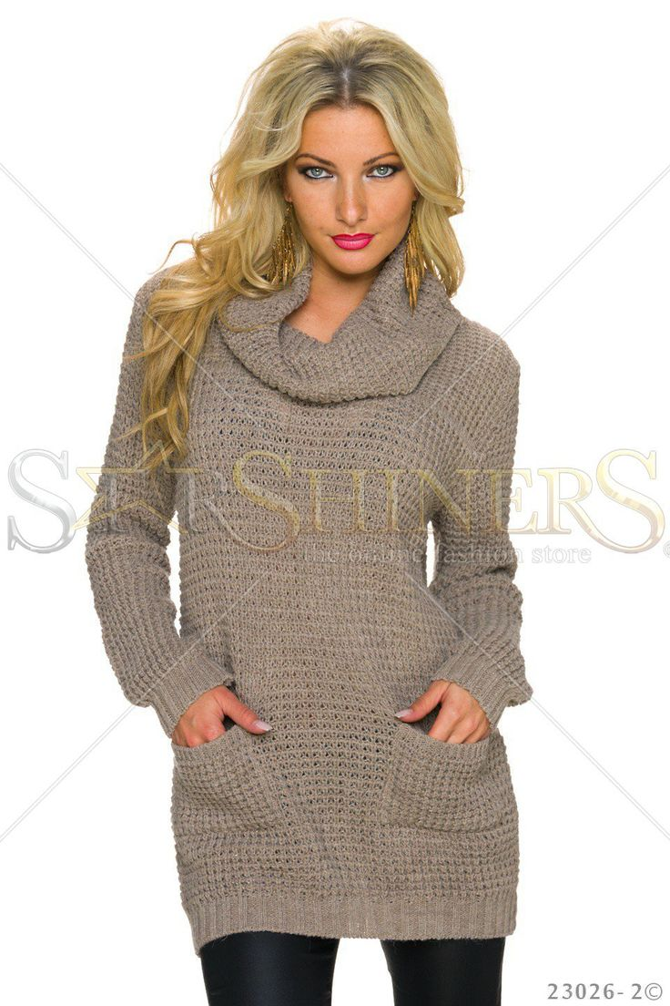 Fashionable Heat Brown Sweater