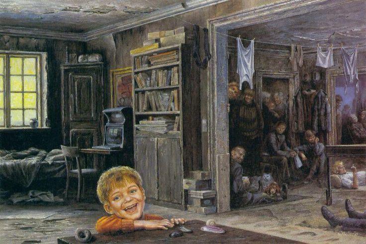 Otto Frello. Dreng der griner