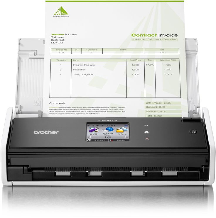 #argos #uk Brother - ADS1600W Wireless Network Document - Scanner: With the ADS-1600W scanning, organising and sharing information… #argosuk