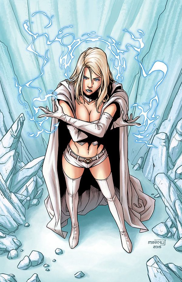 Emma Frost by Minkyu Jung                                                                                                                                                                                 More