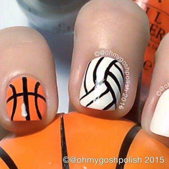 1000+ Ideas About Volleyball Nails On Pinterest