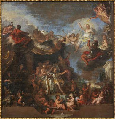 Bajo el Signo Libra: Charles Le Brun a nádhera Versailles