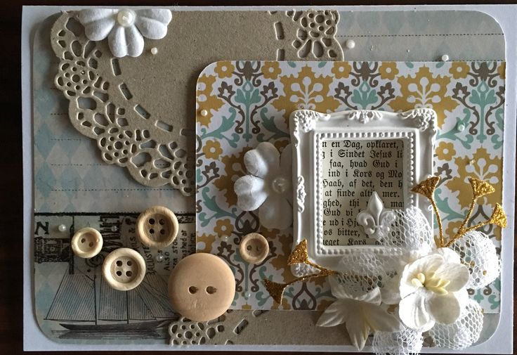 Kort med Blomsterbox inspiration