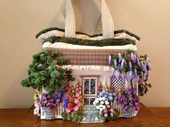 Cottage Craft Bag Pattern Craft Bags Cottage Crafts Crafts