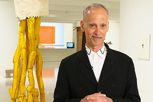 """ABSENTEE LANDLORD Curated by JohnWaters    """"Who should room together in the world of contemporary art? Can a Russ Meyer photograph go to sleep in the same gallery as an Yves Klein blue chip masterpiece?"""" Pop culture provocateur John Waters raises a host of questions in Absentee Landlord, his devious and sometimes irreverent curatorial intervention in the exhibition Event Horizon. Imagining the galleries as rental apartments. now til July 29th, 2012 at Walker Art Center MINNEAPOLIS, MN"""