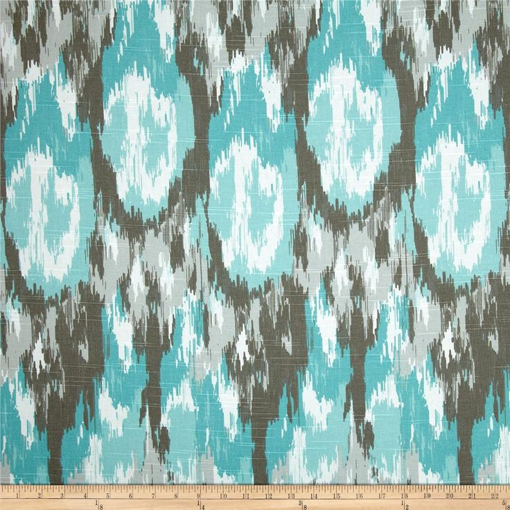 Premier Prints Ikat Craze Slub Spirit from @fabricdotcom  Screen printed on (approx. 6.2 ounce) cotton slub duck (slub cloth has a linen appearance), this versatile medium weight fabric is perfect for window accents (draperies, valances, curtains and swags), accent pillows, bed skirts, duvet covers, slipcovers , upholstery and other home decor accents. Create handbags, tote bags, aprons and more. *Use cold water and mild detergent (Woolite). Drying is NOT recommended - Air Dry Only - Do not…