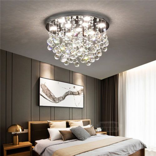 Modern LED Crystal Ceiling Light Hallway Pendant Fixture Chandelier Lamp  CL188
