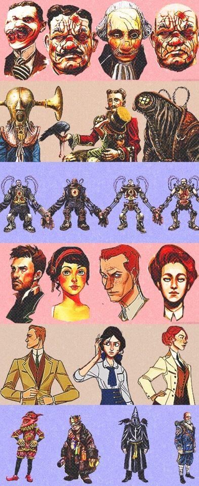 Bioshock infinite concept art