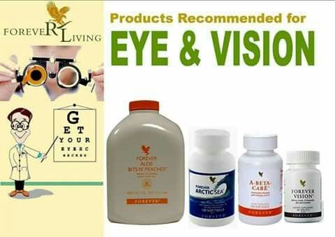 Forever Living Products suplementos para la vision