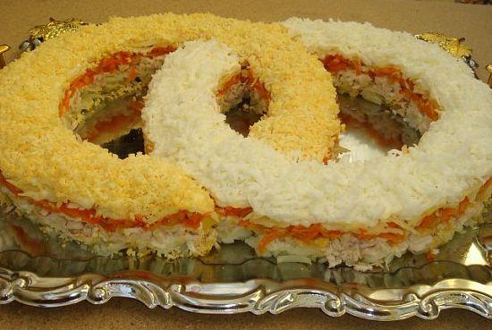 Рецепты с фото вкусных салатов на нововый год