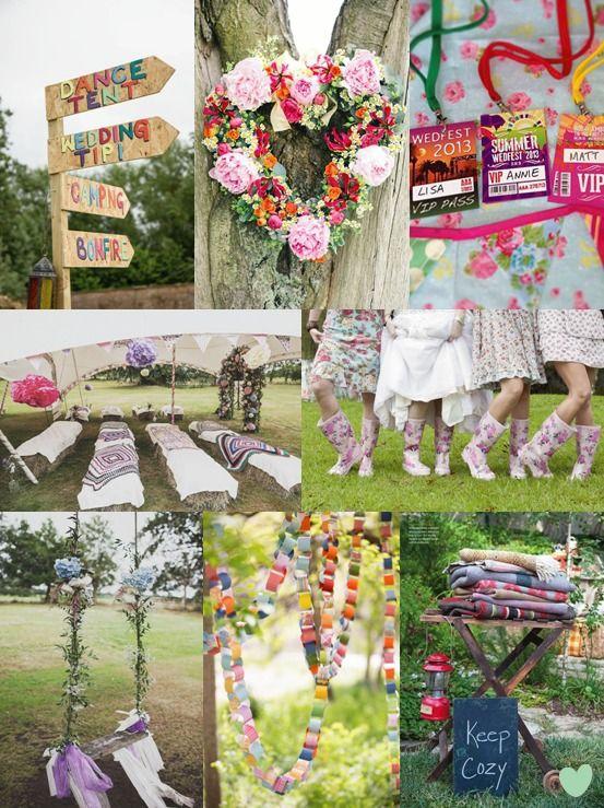 Wedfest Wedding Styling Ideas Mood Board from The #Wedding Community  #weddingideas