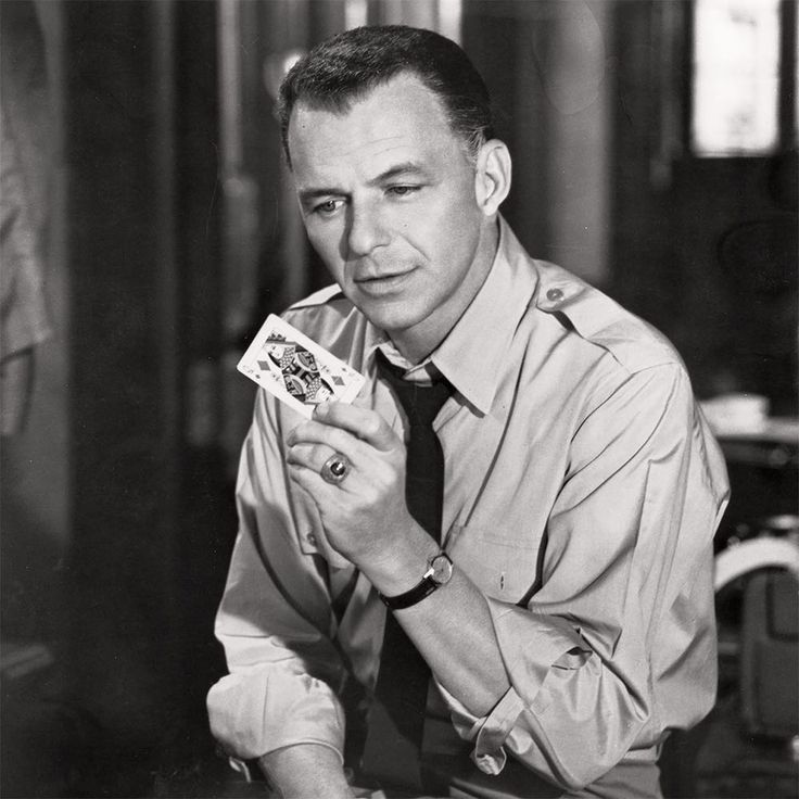 """You better get busy living, because dying's a pain in the ass."" Frank Sinatra #bornonthisday in 1915"