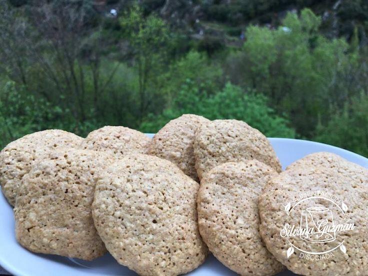 Galletas de avena con harina de espelta