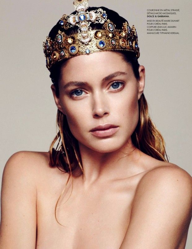 Doutzen Kroes by Bruno Staub for ElleFrance 30th August 2013