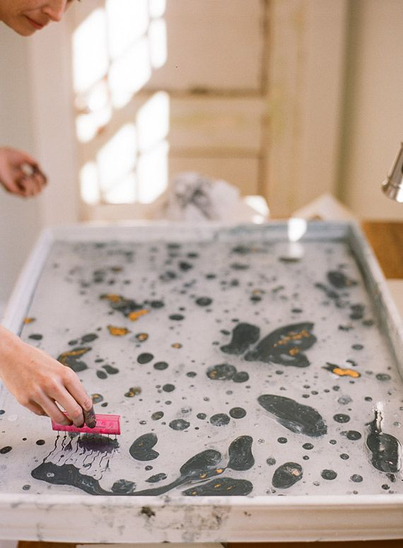 17 best ideas about paper marbling on pinterest water marbling get shaved and custom stationary. Black Bedroom Furniture Sets. Home Design Ideas