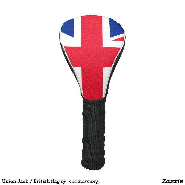 Union Jack / British flag Golf Head Cover