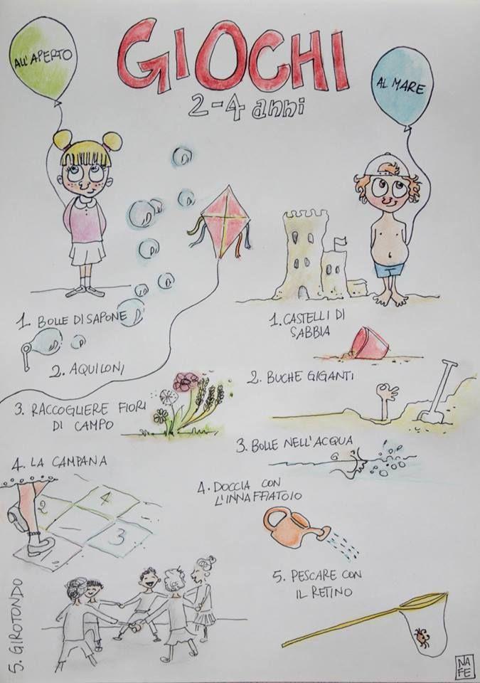 Giochi da fare all'aperto e al mare: alcune idee divertenti e semplici