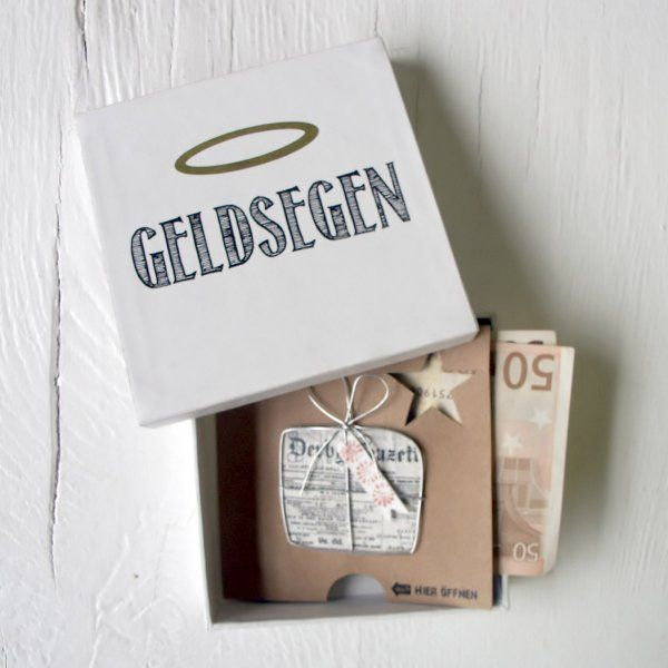 good old friends GmbH Geldgeschenkbox Geldsegen