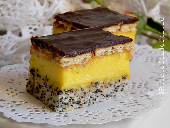 Prajitura Tosca este una dintre cele pe care eu le ador pentru ca are tot ce vreau de la o prajitura.Cea de fata este absolut grozava ,are blat pufos din albusuri cu mac , o delicioasa crema de va…