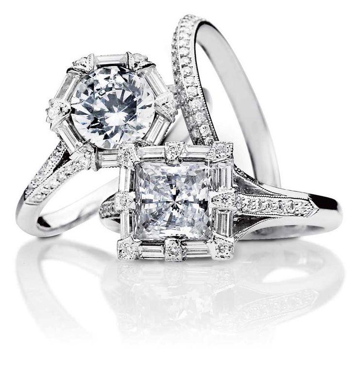 diamonds diamonds: Tacori Engagement, Dreams, Diamonds Rings, Deco Rings, Jewelry, Wedding Rings, Art Deco, Princesses Cut, Engagement Rings