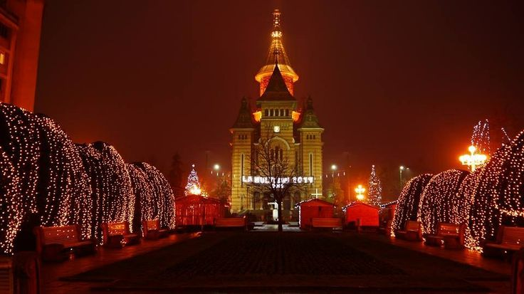 Christmas time!!Timisoara <3