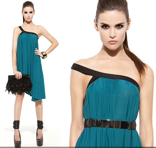 One Shoulder Goddess Dress · Street Style Fashion · Online Store Powered by Storenvy