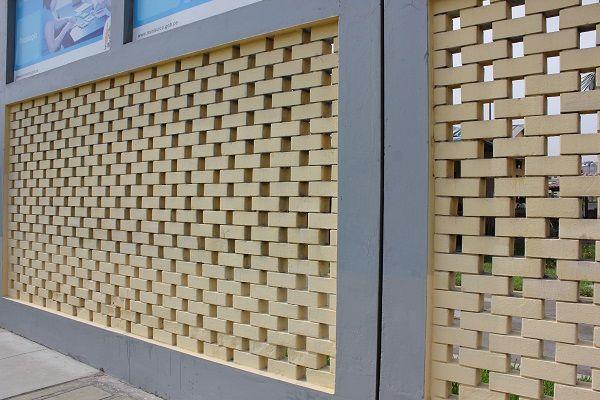 Recinzione in mattoni idea for old bricks