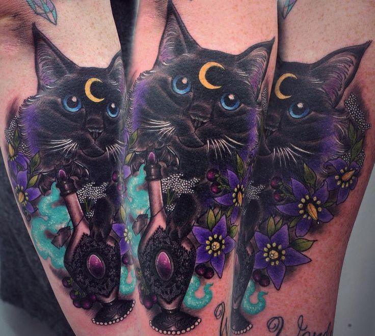 Black Cat by Georgia Liliane