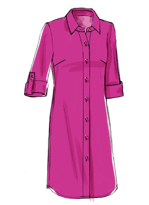 Shirtdress pattern to sew: V8927 | Vogue Patterns