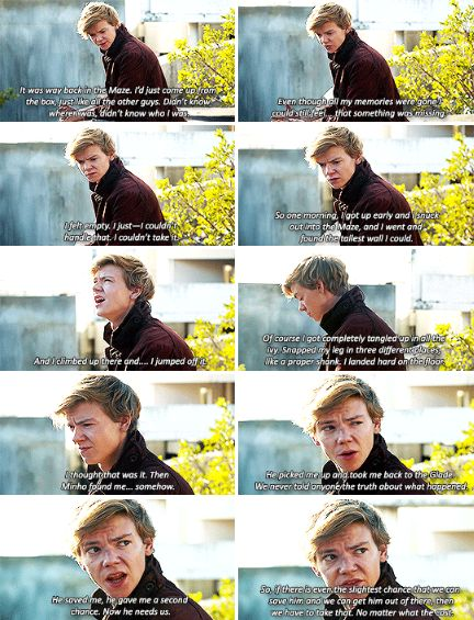 Maze Runner: The Death Cure deleted scene - Newt