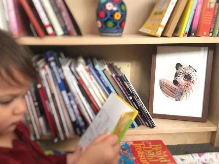 Kids Prints Ferret Mexican Alebrije