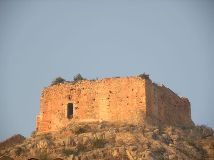 L'alcassaba del castell de Borriol