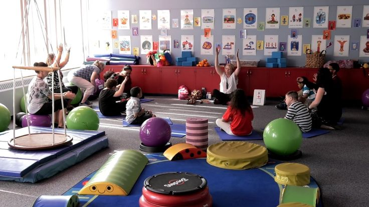 A sensory room: More than students with Autism can benefit.