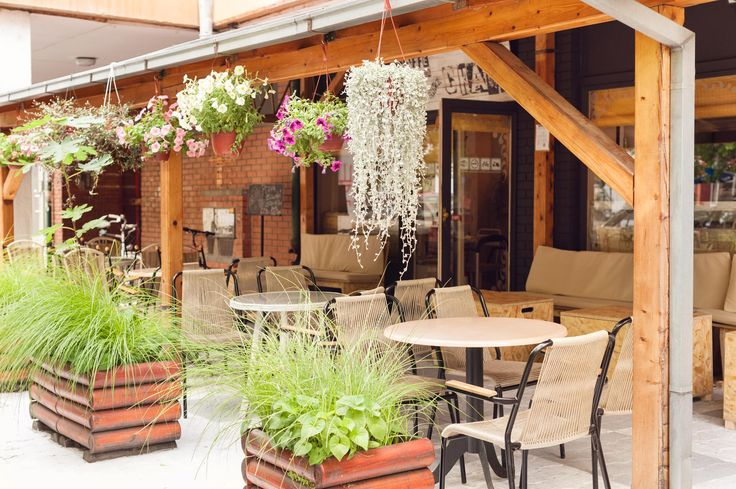 Restaurant summer garden | SrkizChaos