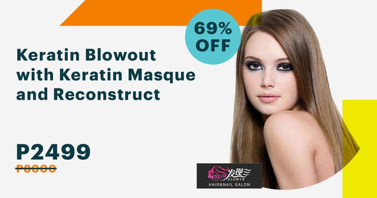 Get gorgeously smooth and shiny hair with a #Keratin BlowOut  Keratin Masque from Gionyx Hair & Nail Salon #discounted today at 69% off at supremedeals.com! #SupremeDeals #longhairdontcare #smoothhair #shinyhair