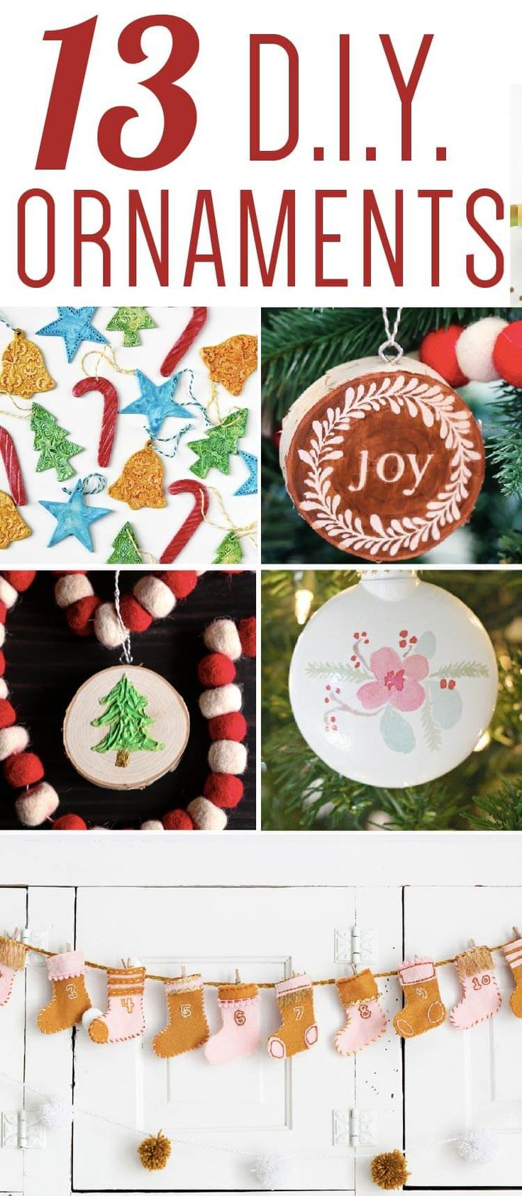 Looking for christmas ornaments - Omg Love This List Of Unique Christmas Ornaments That I Can Make Myself Especially