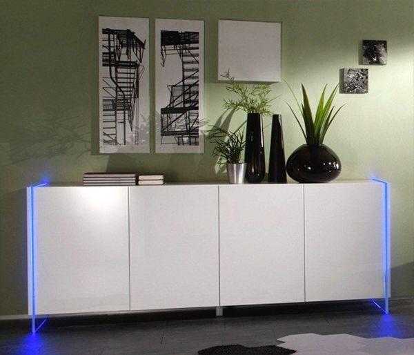 Buffet DELTA LED 4 Portes