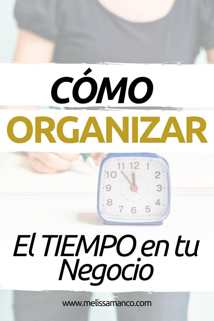 La entrada Cómo Organizar el TIEMPO en tu Negocio se publicó primero en Melissa Manco. Pdf, Ideas, Home, Getting To Know, Personal Finance, Simple, Thoughts