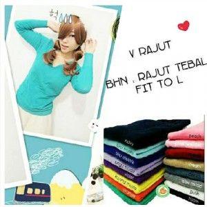 Tampil Casual Dengan Menggunakan Vneck Knitted Longsleeve Kemanapun Kamu Pergi Hanya Dengan Rp. 69.000 - www.evoucher.co.id #Promo #Diskon #Jual  Klik > https://evoucher.co.id/deals/detail/tampil-casual-dengan-menggunakan-vneck-knitted-longsleeve-kemanapun-kamu-pergi-hanya-dengan-rp-69000  Tersedia warna yang kamu sukai :      navy     biru muda     biru elektrik     ungu muda     violet     kuning muda     orange     tosca     peach     pink muda     red