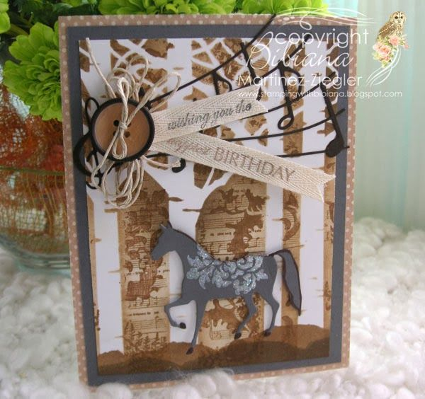 by Stamping with Bibiana: birthday masculine card using a ...