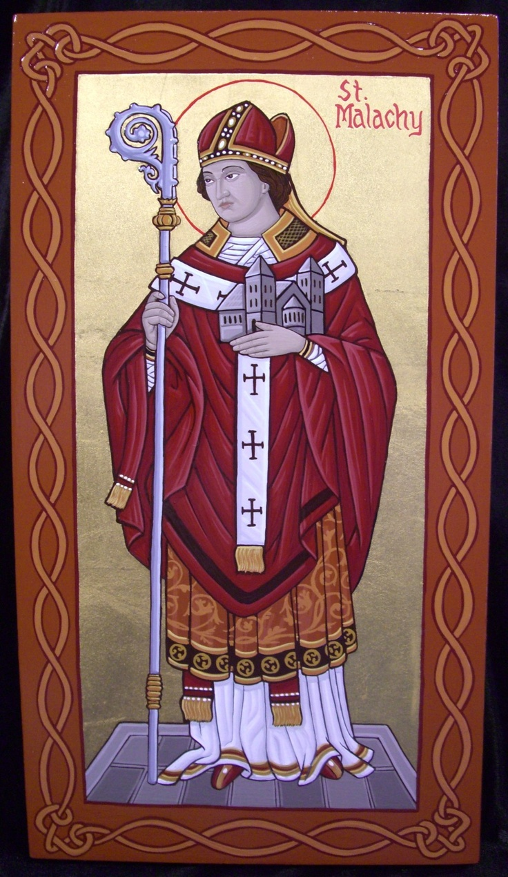 St. Malachy - patron saint of the Archdiocese of Armagh and the Diocese of Down and Connor in Northern Ireland