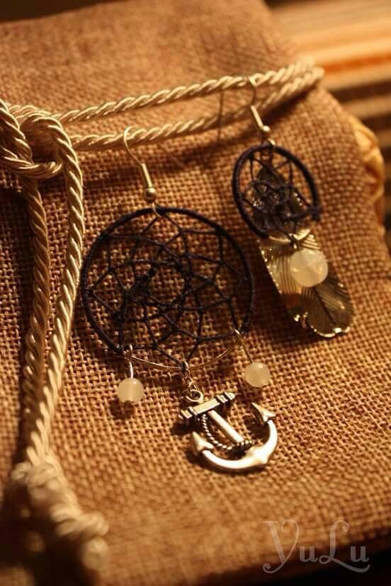 Navy dreamcatcher