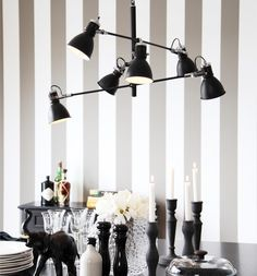 Great contrast on this black metal pendant. Futuristic design combined timeless shades. // Pigalle - Sessak